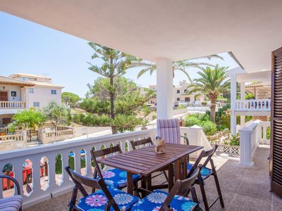 Photo for CAN RAMIS - Chalet with terrace in Son Serra De Marina.