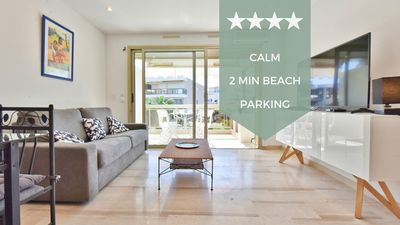 Photo for KIKILOUE ☀️ 2 min from the beaches, with terrace! ☀️ Ideal for families !