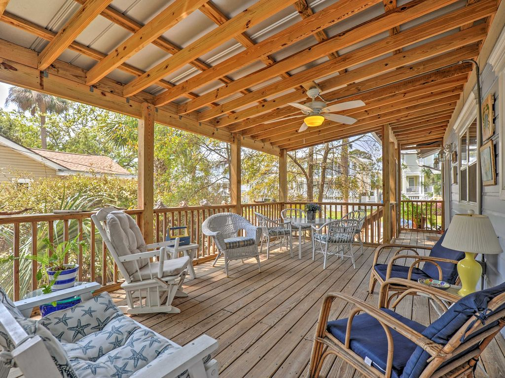 Vrbo Tybee Island 1 Bedroom Tybee Island 3br Sleeps 9 Add Cottage For Vrbo