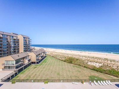 Photo for C606: 2BR Sea Colony oceanfront condo! Sleeps 8 - Private beach, pools & tennis!