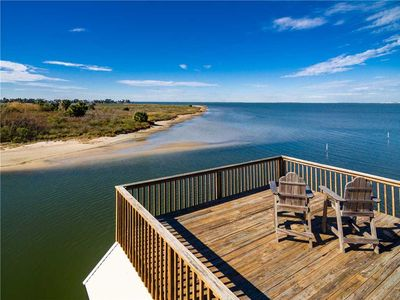 Photo for Canal Home at mouth of Bay in Terramar | Bay Vista | 4/3.5 Sleeps 14