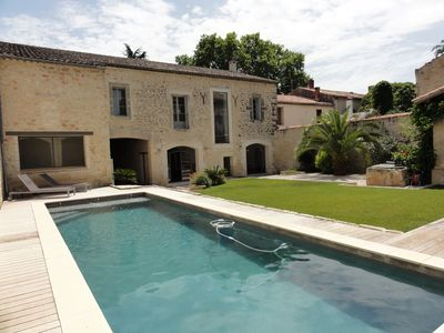 Photo for Gorgeous Fully Restored Villa with Pool, 20 Min From Beaches near Montpellier