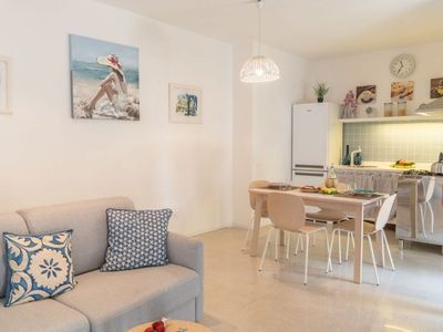 Photo for Holiday house in the centre of sant'agata sui due golfi is a modern apartment with private garden.