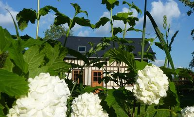 Photo for Typical Cottage In Normandy, 10 Min Away From Honfleur