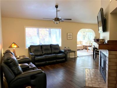 Photo for Golfers paradise. Spacious two bedroom two bath golf front town home.