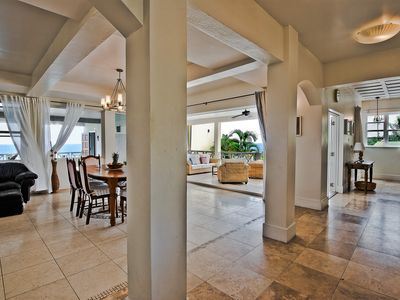 Spacious Indoor/Outdoor living. Private pool. Amazing ocean/golf course views
