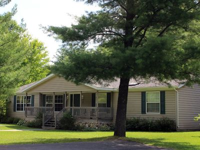 Photo for Whistling Brook @ Spring Brook Resort   Cozy Creekside Home Located Close to Pool