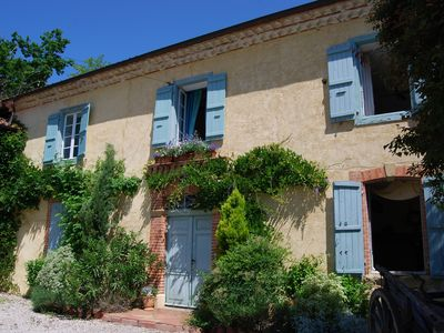 Photo for Traditional Gascogne Farmhouse Private Gardens Alarmed Pool Terraces Wifi