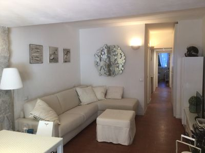 Photo for Caterina apartment, 80 meters from the sea, in the pine wood in Marina di Campo