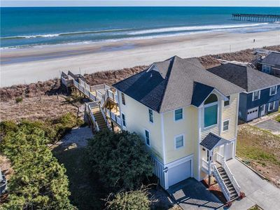 Photo for C-MAID: 4 Br / 3 Ba Oceanfront In Topsail Beach, Sleeps 8