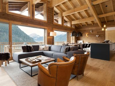 Photo for This apartment is located on the road of Vonnes, close to the center of the village of Châtel