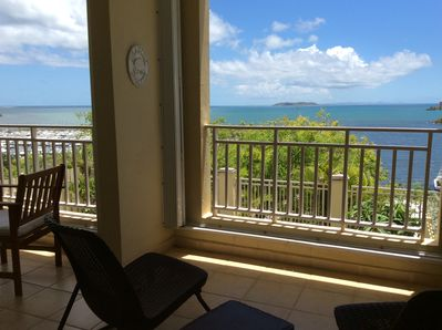 Paradise! Two Private Balconies with breathtaking views to neighboring islands!