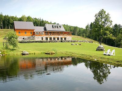Amee Farm Lodge, Pittsfield, VT. Perfect for a family reunion or retreat.