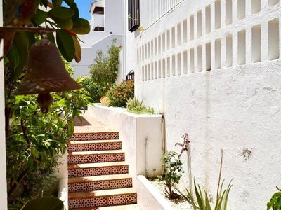 Photo for Beautiful terraced duplex house in Mijas Costa, golf.
