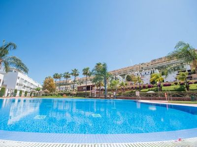Photo for 5 bedroom Apartment, sleeps 12 with Pool, Air Con, FREE WiFi and Walk to Shops