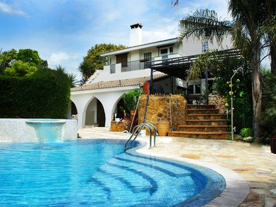 Photo for Valencian Villa Near To Beach,City & Airport. Waterfall Pool & Jacuzzi