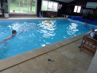 Photo for Large atypical modern house - 16 people with indoor pool