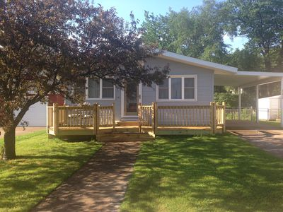 Photo for Stunning home just steps to the beach, bike path, downtown Marquette, and NMU