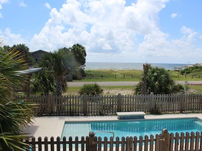 Photo for Great Gulf Views Private Pool Private Hot Tub Easy Beach Access