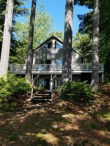 Photo for Two-Bedroom with Scenic Water Frontage!