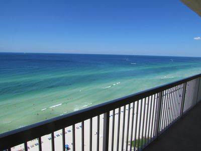 Photo for Incredible Gulf Front Condo Master/Living room directly on the water.Free Wifi