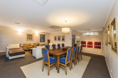 Formal Dining and Lounge Rooms.
