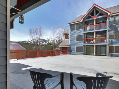 Photo for Ideal Locale Steps to Mountain & Main St- 1Br+Loft, Sleeps 6