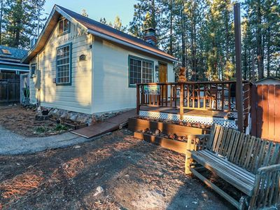 Photo for Winter Pines Cabin Ultra Relaxing Couple's Studio / Hot Tub / Sun Deck / BBQ