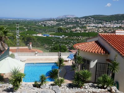 Photo for Casa Lara - Villa sea / mountain with outstanding view, private pool and WiFi