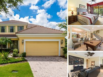 Photo for RVH_018M | Luxury 4,498 sq. ft., 5 Bed, Movie Room, Game Room, Overlooking Golf Course