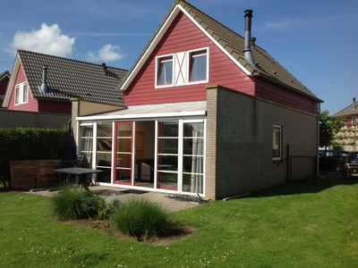 Photo for Holiday home for 6 pers. at 100m from the sea at Hoofdplaat in Zeeland