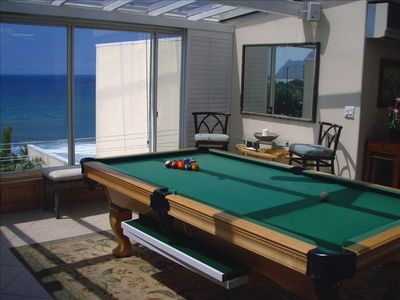GAME ROOM ENTRANCE (pool table - refreshment center- ocean view)