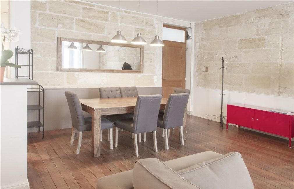 Appartement cosy avec terrasse privative 70m2 plein c ur for Appartement bordeaux 70m2