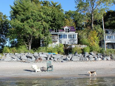 Photo for Lake Front Lake Ontario!  Beautiful Family Setting!
