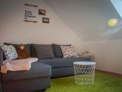 Photo for Cozy apartment with Netflix on two floors