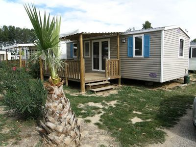 Photo for Camping Bosc D'en Roug *** - Mobile Home 4 Rooms 6 People