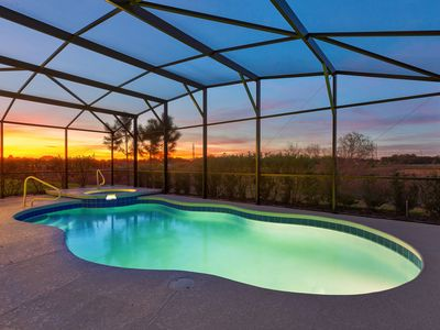 Photo for Solterra Preserve | Ultra Private 7 Bedroom Private Pool Home Close to Disney
