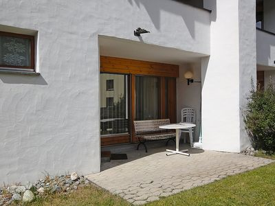 Photo for Apartment in the center of Saint Moritz with Parking, Internet, Washing machine, Garden (61337)