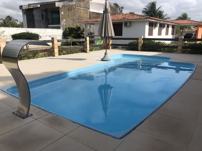 Photo for Spacious house with pool in Barra de São Miguel