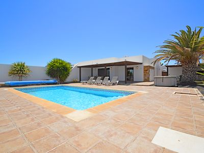 Photo for Casa Rosemont: Luxury villa with heated pool & jacuzzi - Sleeps 4 - FREE WiFi