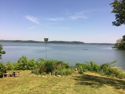 Our Beautiful Kentucky Lake from the front of the Main House.