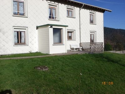 Photo for Ground level apartment in self catering country house, separated entrance, quiet