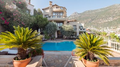 Photo for Villa Narnia -3 bedroom hillside villa with fantastic views of Kalkan Bay