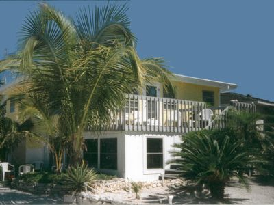 Photo for Beautiful Florida Beach Cottage just steps from White Sand Beach & Gulf