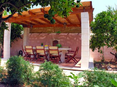 BBQ Pergola for relaxation