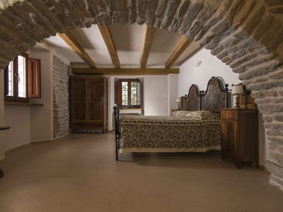 Photo for Arco room - Independent studio in a 16th century stone farmhouse