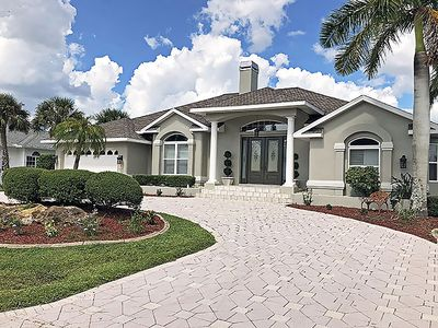 Photo for Luxurious Waterfront Home located in Port Charlotte Beach district