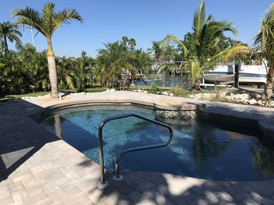 Photo for Fisherman's Paradise 2 Bed 2 Bath Canal Home with Heated Pool on Terra Ceia Bay