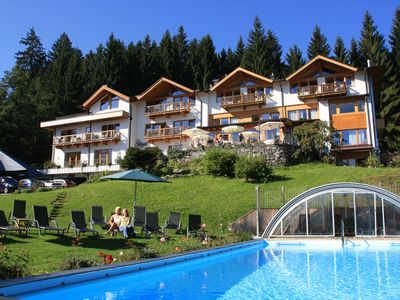 Photo for The paradise at Kitzbuehel, luxury chalet Villa Rosa at Gartenhotel Rosenhof