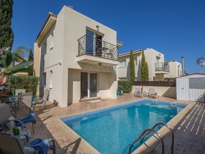 Photo for Villa Carly, Modern 3BDR Pernera Villa with Pool, Very Close to the Beach